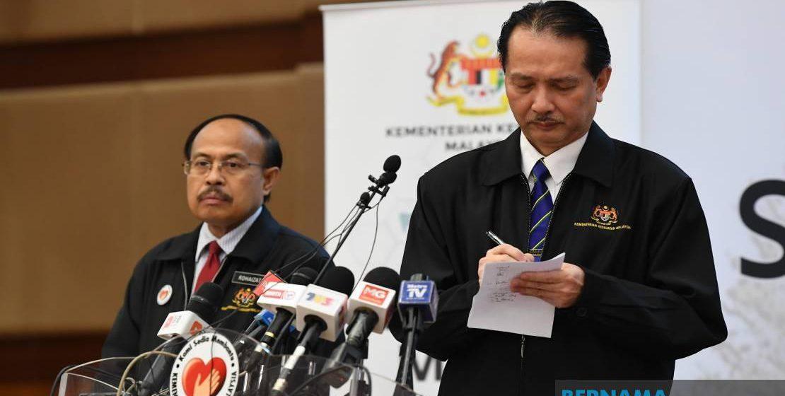 Covid-19: Tiga kes baharu babit dua kluster di Sarawak dikesan