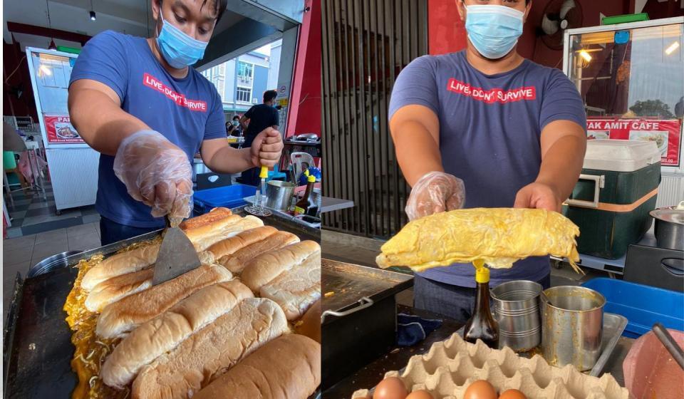 Inovasi Roti John Selimut
