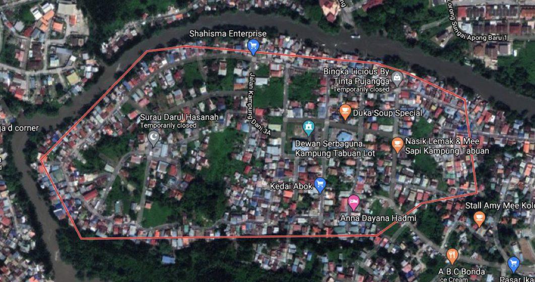 Operasi ACD bakal dilaksanakan di Kampung Tabuan, Kuching