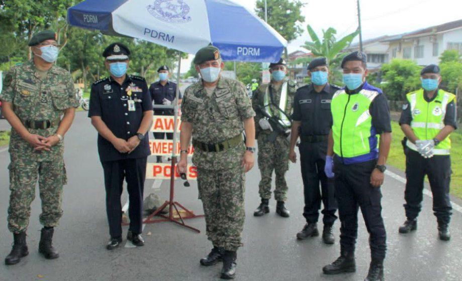 Pasukan Petugas Khas jaga sempadan negara