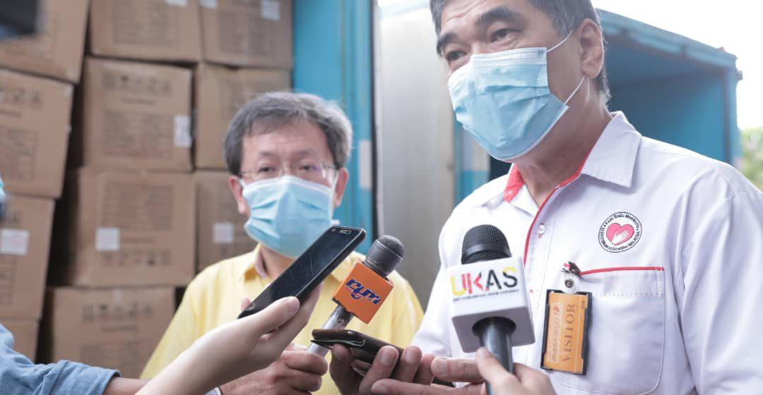Sarawak terima tambahan PPE