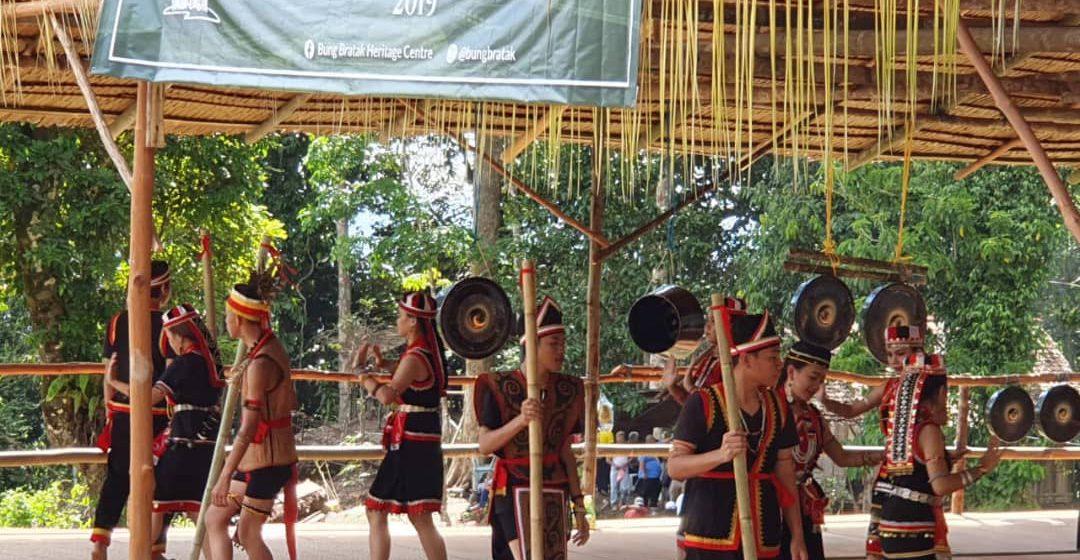 Tipan jerita Bung Bratak: Bidayuh Jagoi nampil Iban Skrang