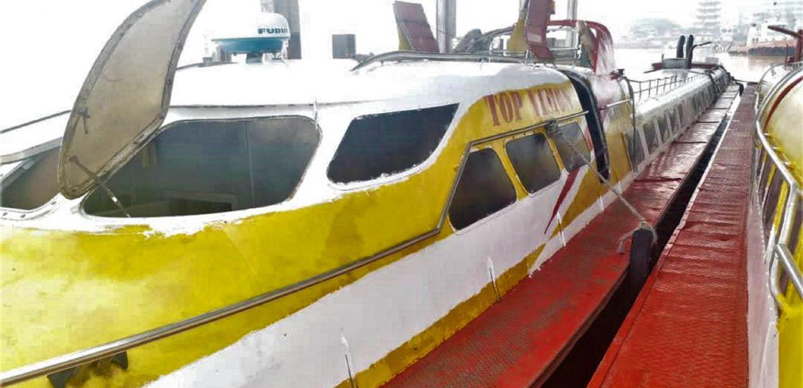 Bot ekspres Sibu-Kapit kembali beroperasi