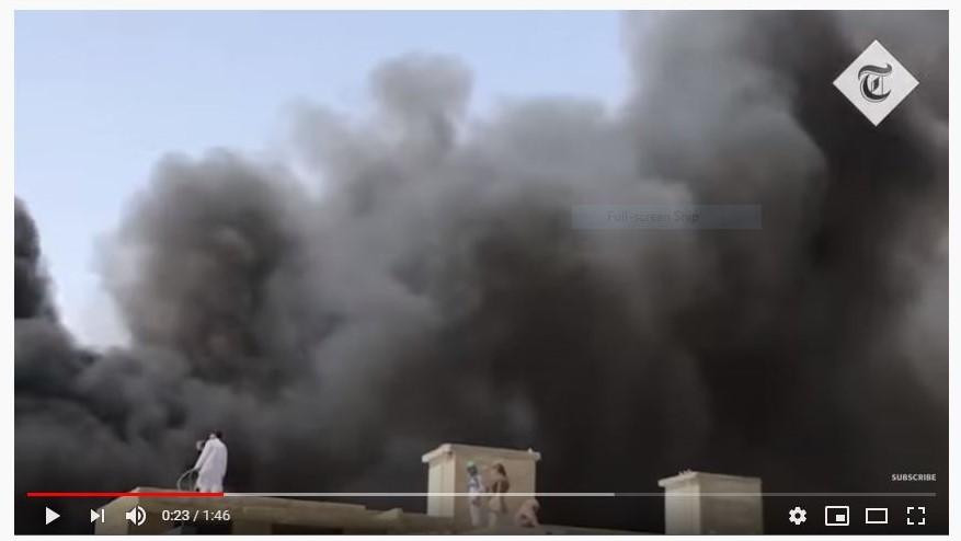 107 dikhuatiri maut, pesawat Pakistan terhempas di kawasan perumahan