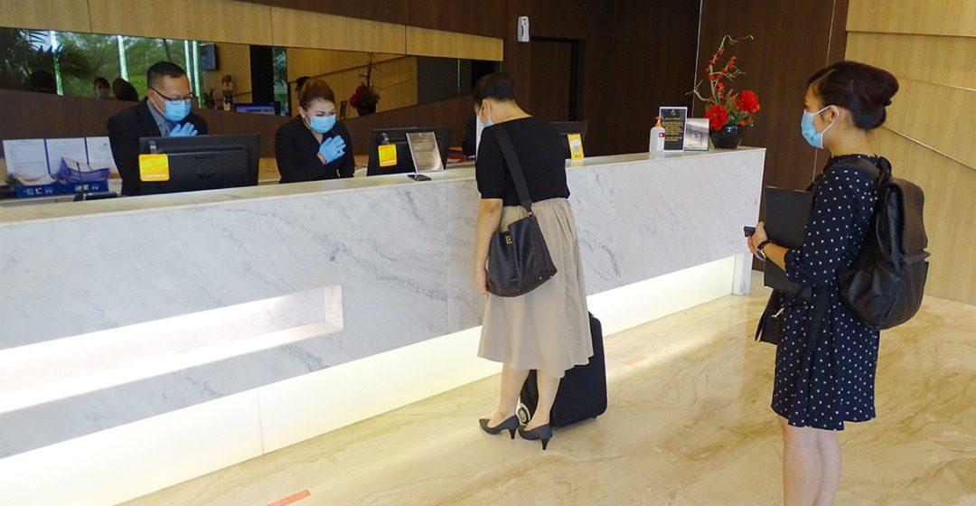 Hotel Golden Bay mula beroperasi