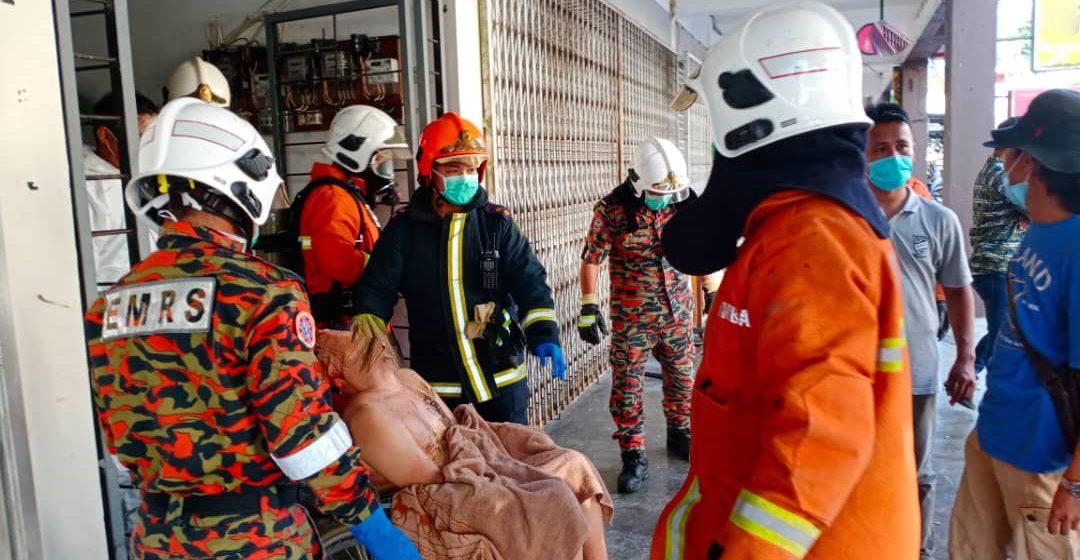 Suspek kes pecah rumah ditemui bersama perempuan warganegara Filipina lepas bakar kotak dalam bilik sewa