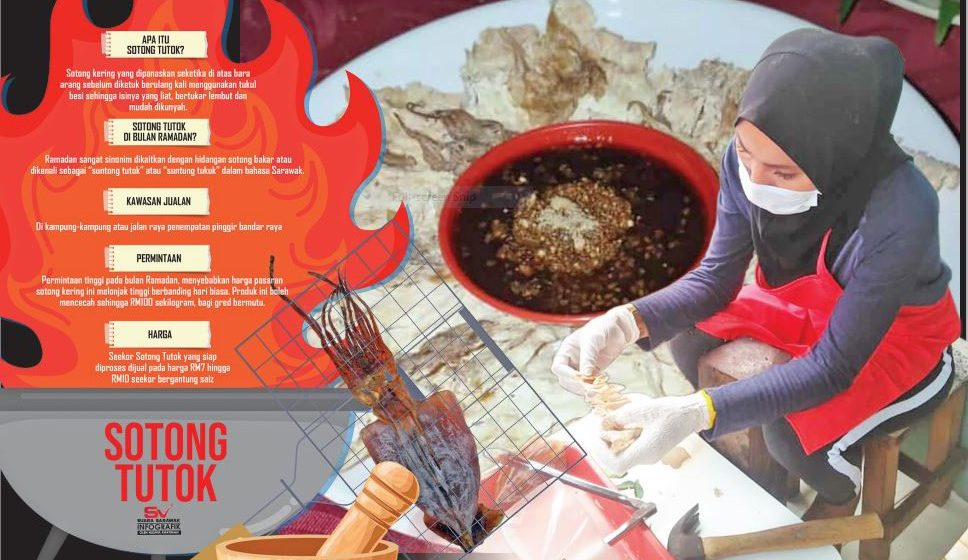 Sotong tutok tradisional laris