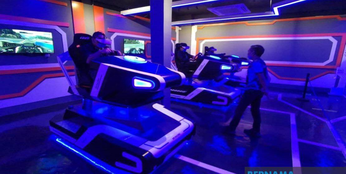 Taman tema VR di Kota Samarahan dibuka dengan kapasiti terhad