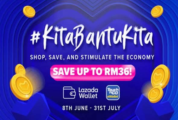 Lazada, TNG Digital suntik RM6 juta dalam '#kitabantukita' bagi bantu 320,000 PKS