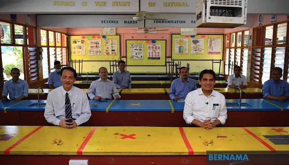 Garis panduan pembukaan semula sekolah diedar mulai Khamis