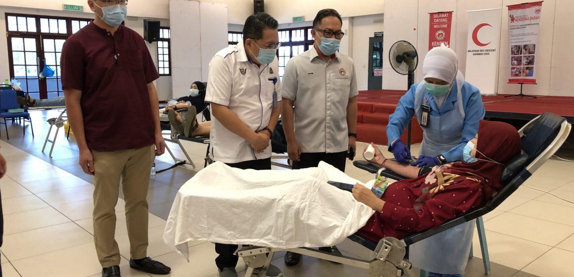 Sasar kumpul 2,700 pain darah