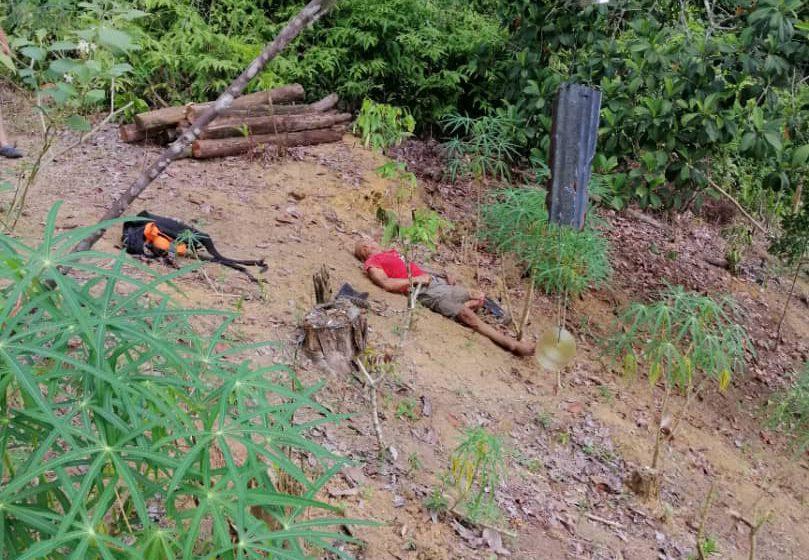 Mayat lelaki ditemui terbaring di kebun belakang rumah