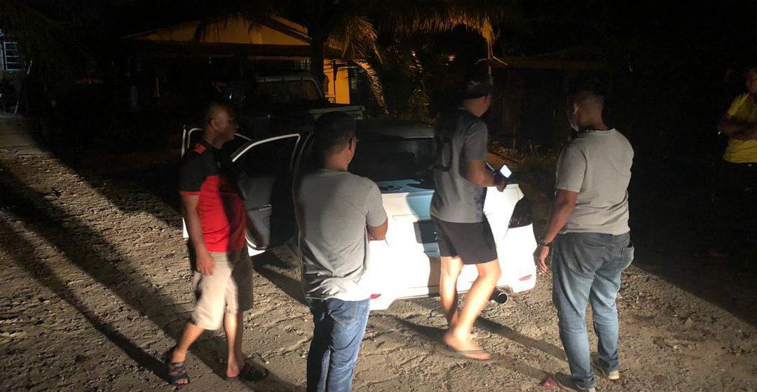 Penduduk berjaya tahan suspek curi kereta