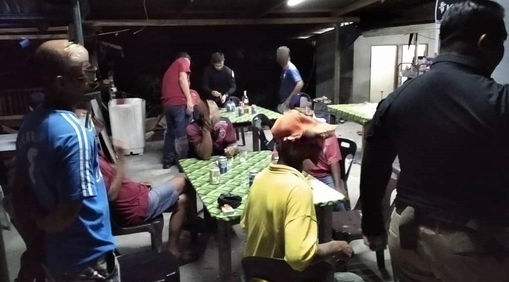 Tujuh lelaki ditahan ketika leka bermain holo di Bau