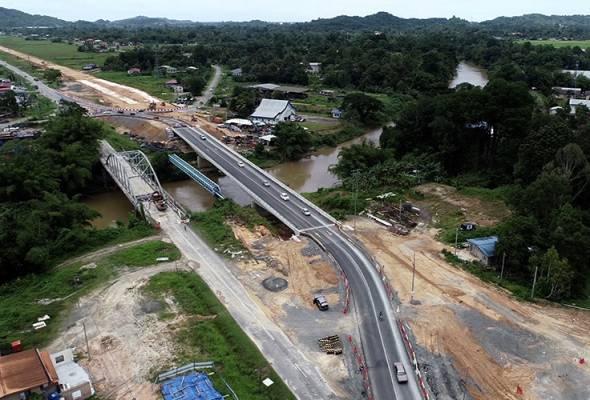 Projek infrastruktur tejanggal ditampung baru