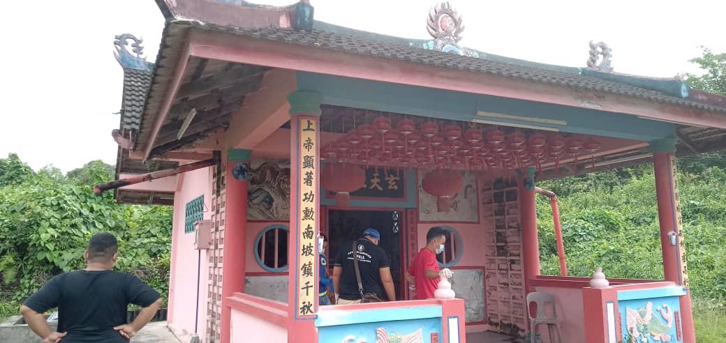 Mayat lelaki ditemui pengunjung di Tokong Paku