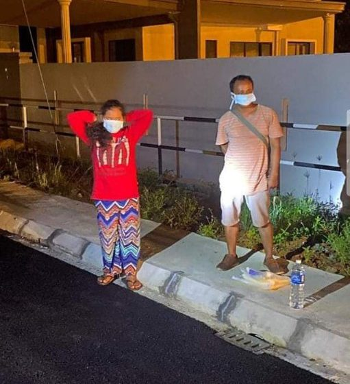 Dua pesakit Covid-19 peranak Indonesia ti lari ditemu malam tadi