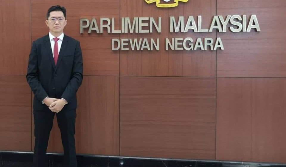 Robert Lau temegah dichiri nyadi senator