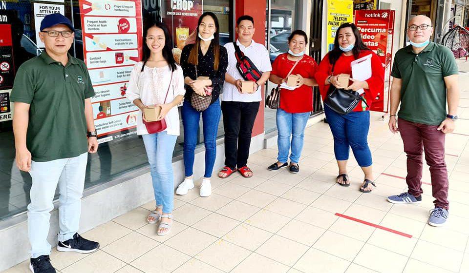 Kuching Skills College ngatur pejalai ngusung pelatih baru