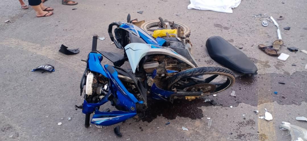 Penunggang motosikal maut dilanggar lari