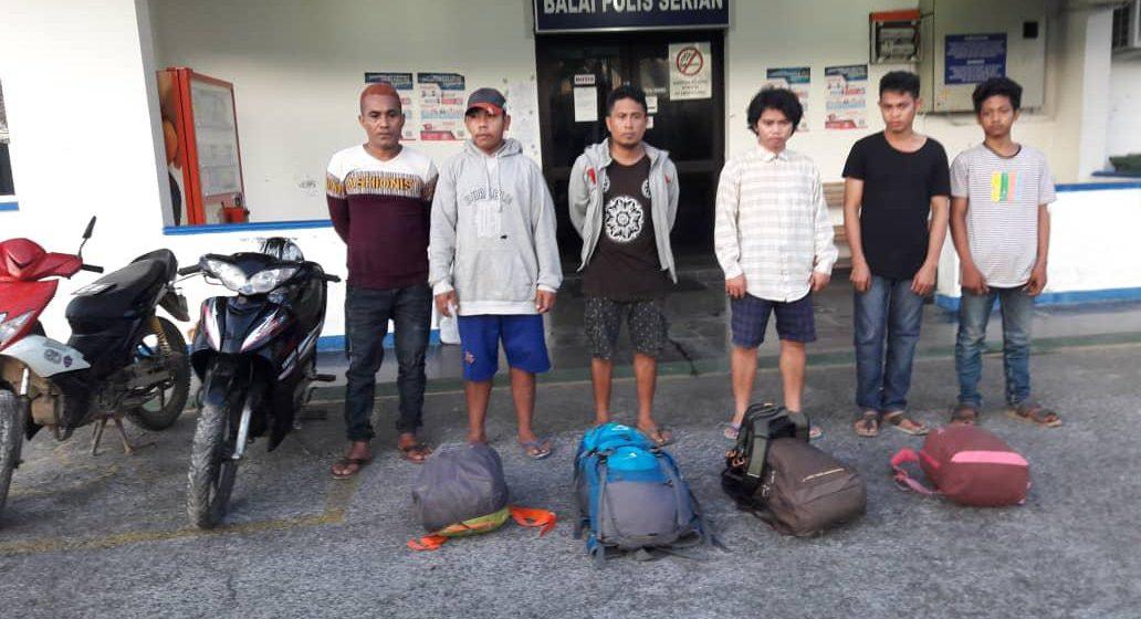 27 warga Indonesia ditangkap cuba masuk Sarawak secara haram