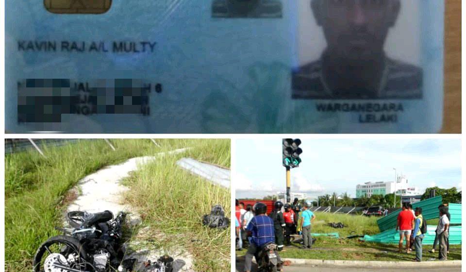 Penunggang motosikal kemalangan maut di lampu isyarat Paragon