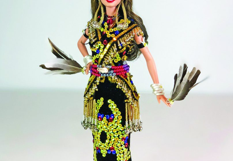 Kreativiti Wesley Juntan ngaga agum barbie tau ditunda