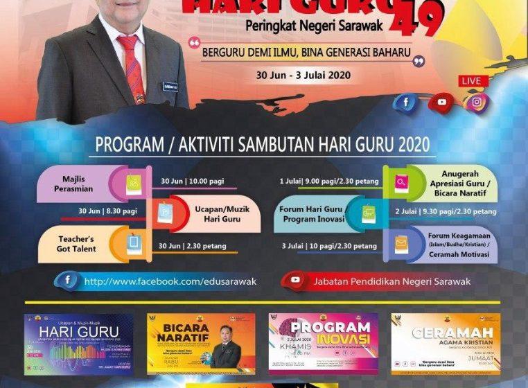 Hari Pengajar diintu online bepun 30 June – 3 Julai