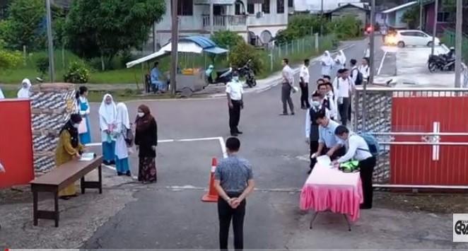 141 pelajar SMK Matu kembali ke sekolah