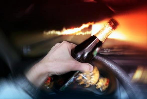 Tiada simpati untuk pemandu mabuk