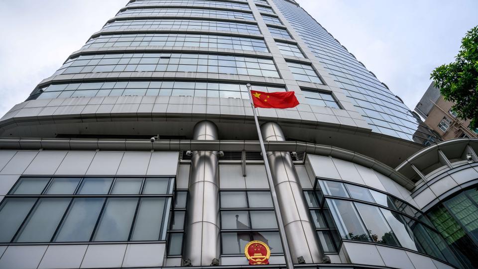 China buka markas polis rahsianya di Hong Kong
