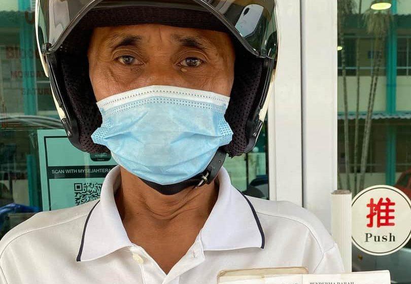 Dia hero kami! : 25 tahun kerja tanpa cuti sakit
