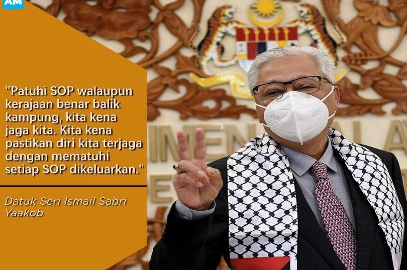 Ismail Sabri: Tiada sekatan perjalanan, boleh pulang sambut Aidiladha di kampung