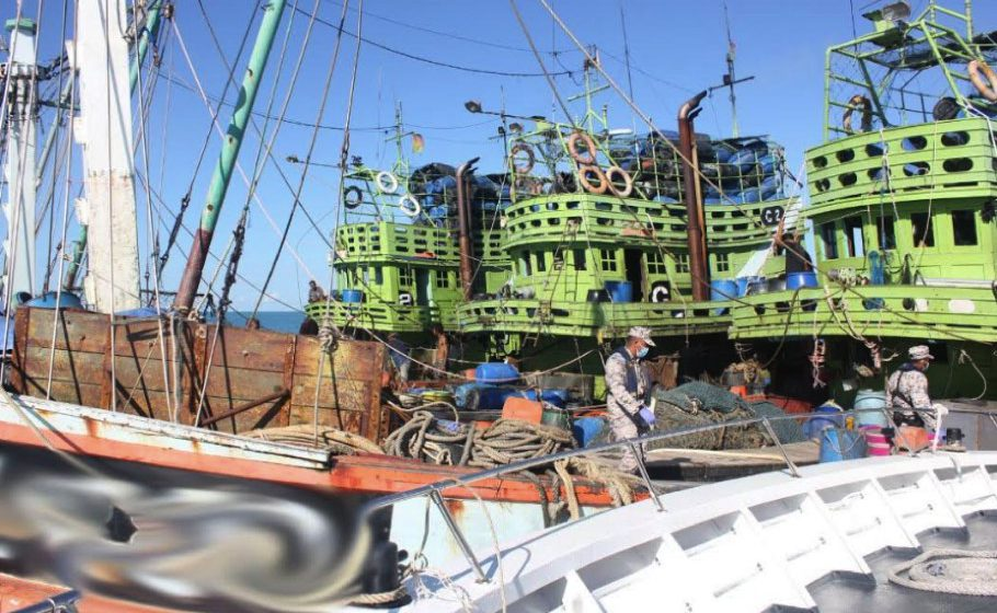 23 warga Thailand ditahan kaut ikan di luar perairan