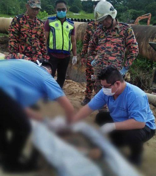 Lelaki Filipina maut tertimbus sedalam 10 kaki