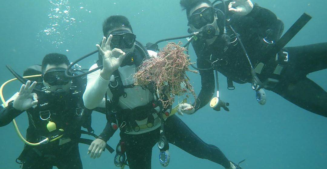 Pukat hantu rosak keindahan dasar laut