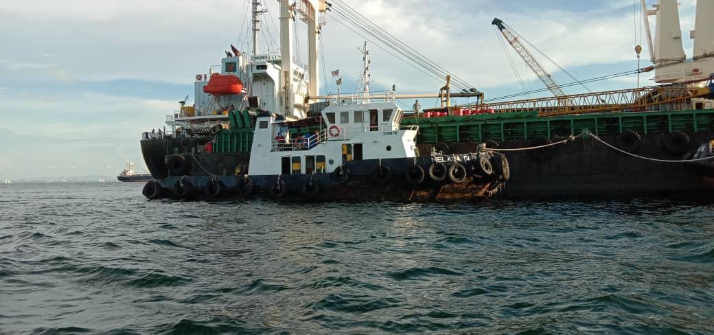 Bot tunda tanpa dokumen sah pelepasan pelabuhan ditahan di Miri