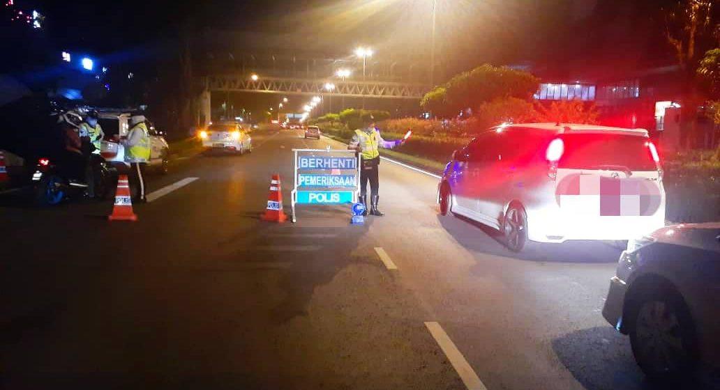 48 saman trafik dikeluarkan, dua pemandu bawah pengaruh alkohol ditahan