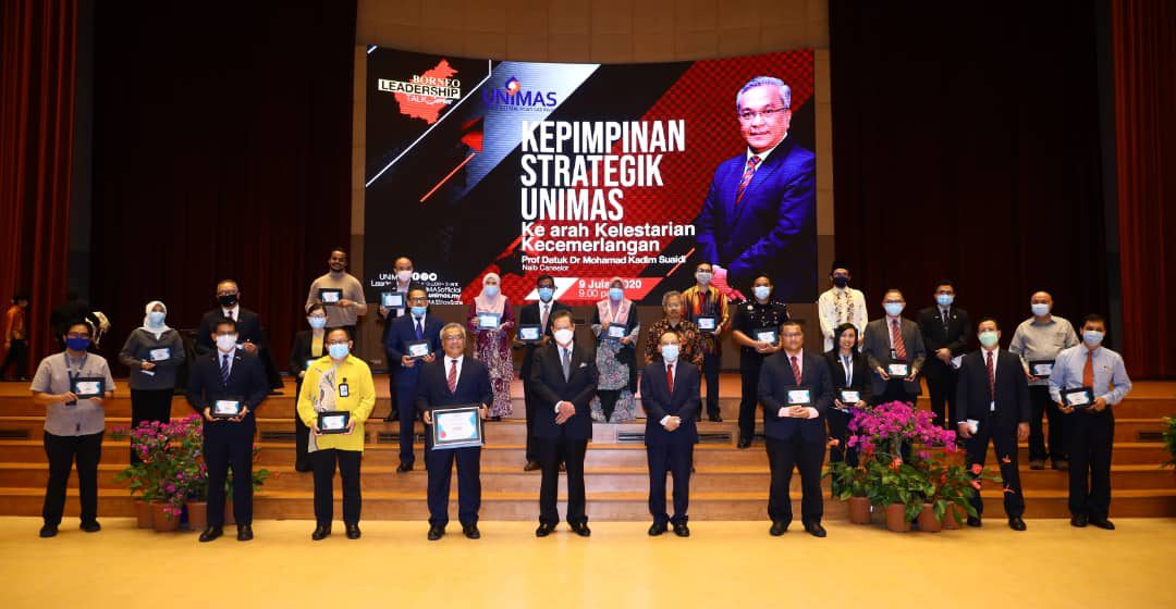 Nama Unimas majak pegari asil pemujur Pelin Strategik 2016-2020