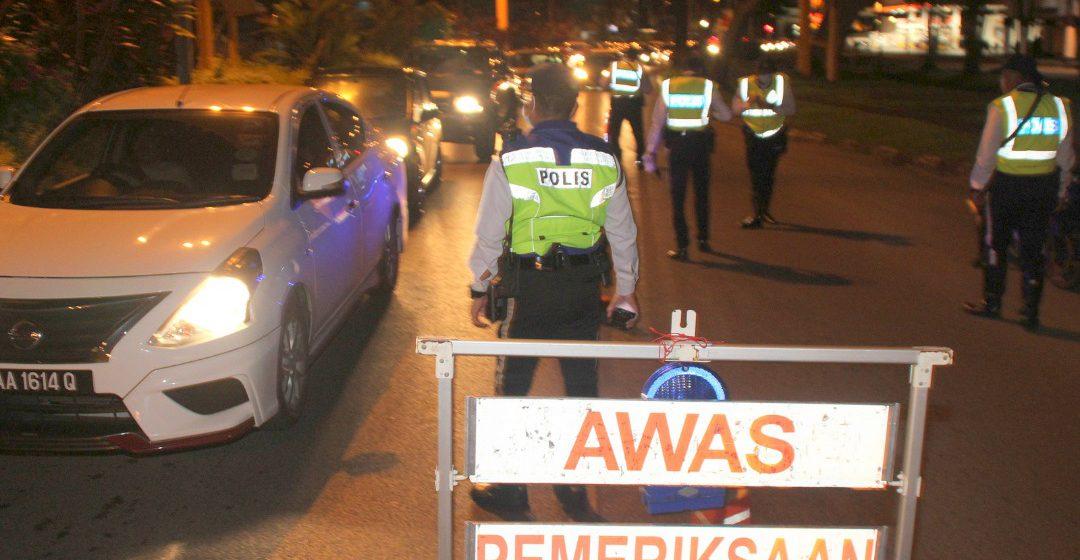 Ops Mabuk : 35 saman dikeluarka polis