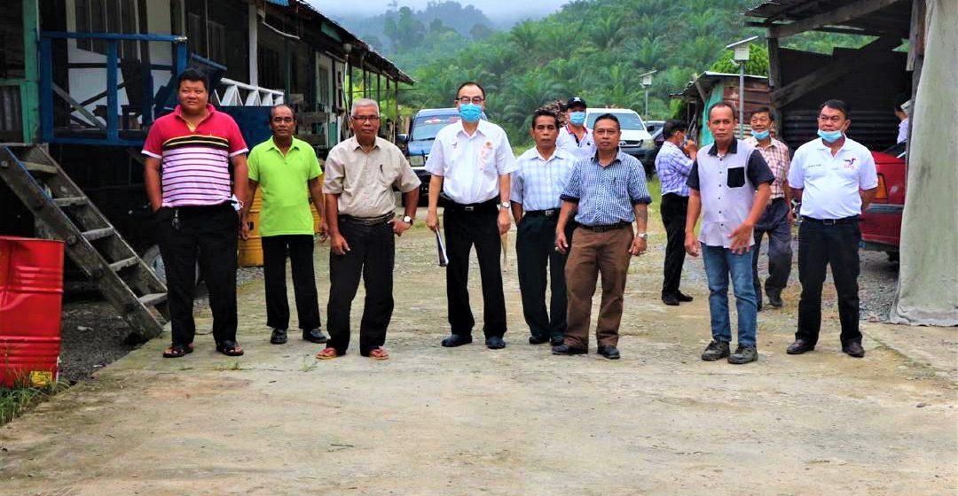 11 rumah panjai di Dudong deka dibantu bulih RES