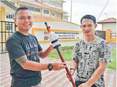 Kongsi modal sumbang sanitasi untuk pelajar