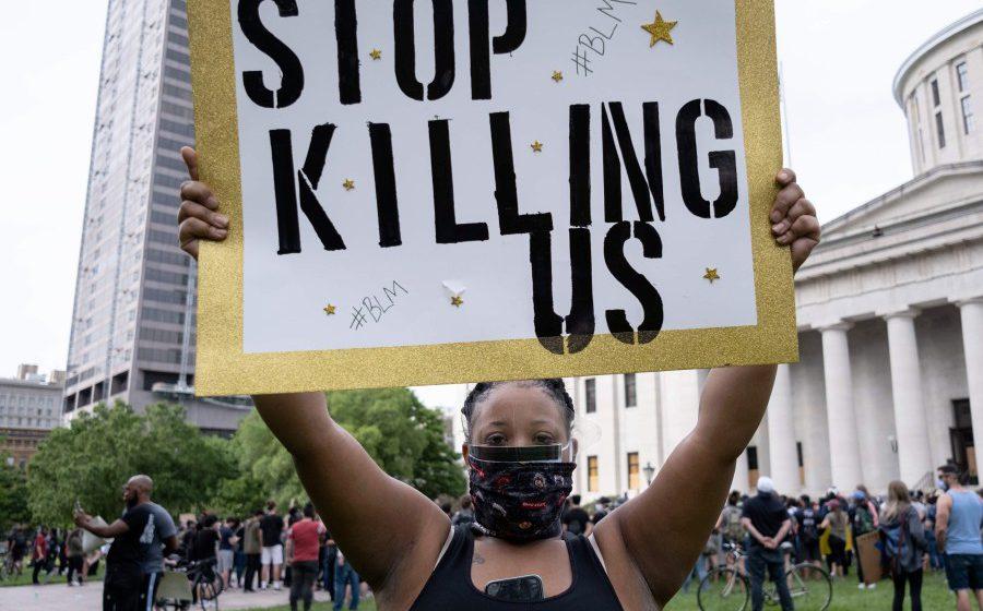 Pertembungan pemprotes, polis meningkat di AS