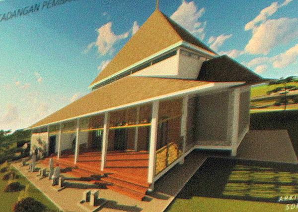 Masjid baharu bercirikan tradisional Melayu