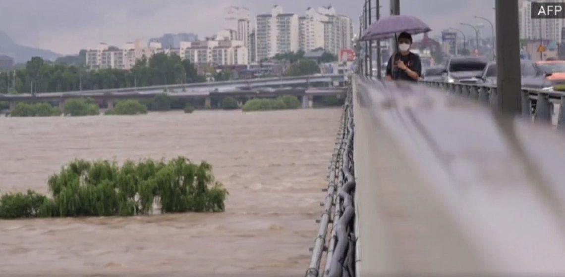 Hujan lebat di Korea Selatan: Tujuh hilang, lima maut