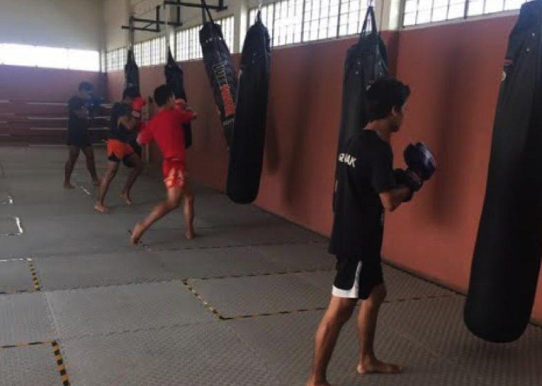 Muaythai Sarawak fokus kecergasan fizikal