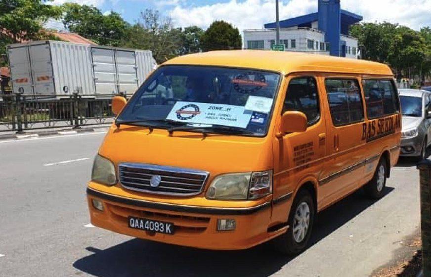 Perkhidmatan bas sekolah percuma ke Simanggang