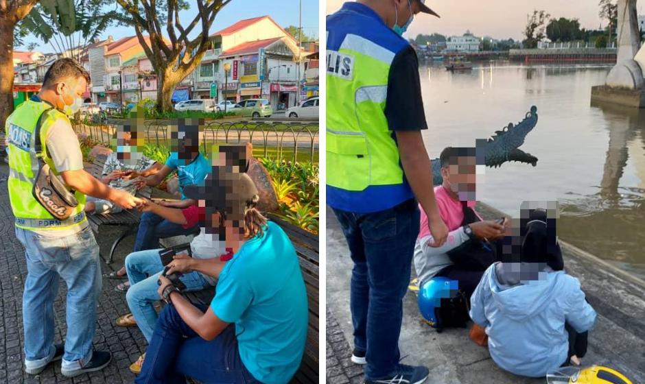 16 individu serta-merta dikenakan notis kompaun RM1,000