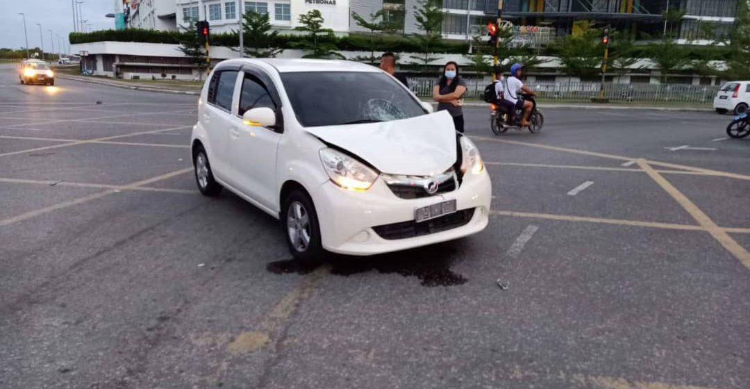 Warga emas maut dirempuh kereta wanita muda di Bintulu