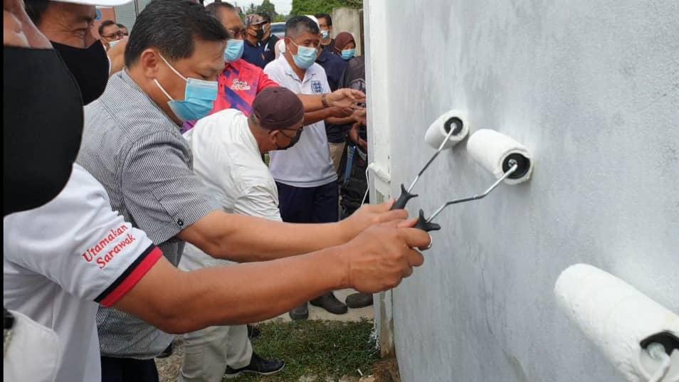 Huang hulur RM300,000 bina tembok pagar Tanah Perkuburan Islam Sarikei